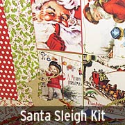 Santa Sleigh Kit - December 2015