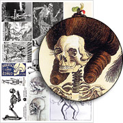 Dem Bones Collage Sheet