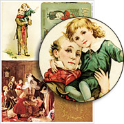 Dickens Christmas Collage Sheet