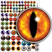 Eyeballs Collage Sheet