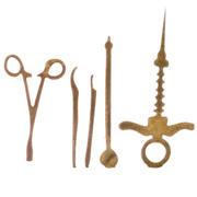 Set of Miniature Dental Tools