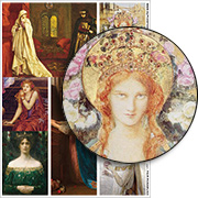 Fair Rosamund Collage Sheet