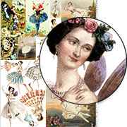 Fairy Ballerinas Collage Sheet