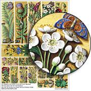 Floral Panels Collage Sheet