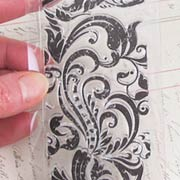 Fancy Flourish Clear Stamp