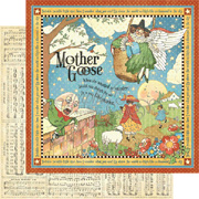 Mother Goose Scrapbook Paper