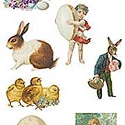 Easter or Spring Adhesive Die-Cuts*