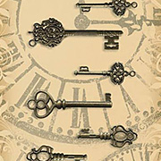 Ornate Metal Keys