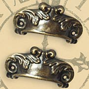 Metal Door Pull - Antique Brass