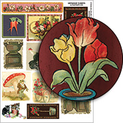 Greenhouse Elements Collage Sheet