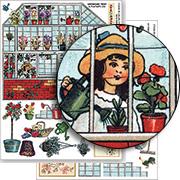 Greenhouse Collage Sheet Set