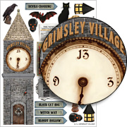 Grimsley Village Collage Sheet