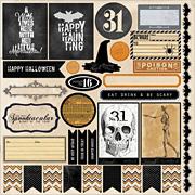 Happy Haunting Cardstock Stickers