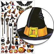 Halloween Dress Up Half Sheet