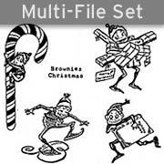 Holiday Brownies Set Download