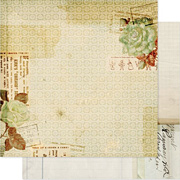Hope Chest Scrapbook Paper - Documents