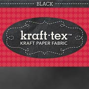 Kraft-Tex Paper Fabric - Black