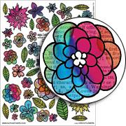 Kira's Flowers Collage Sheet