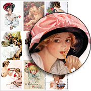 La Belle Epoque Collage Sheet
