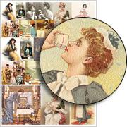 Ladies Tea Collage Sheet