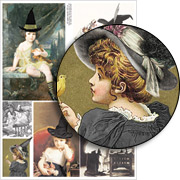Little Witches Collage Sheet