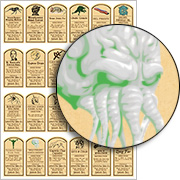 Lovecraft Potion Labels Collage Sheet