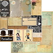Nirvana Documented Scrapbook Paper