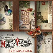 Madame Payraud 6x6 Paper Pack