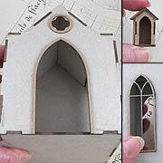 Chipboard Mausoleum Full Kit