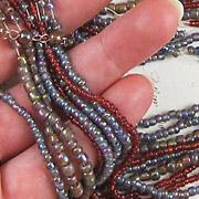Mauve/Red Bead Mix