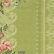 Merryweather - Varnished Tulip Scrapbook Paper