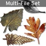 Metallic Leaves Set Download