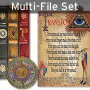 Mini Apothecary Books & Pages Set Download