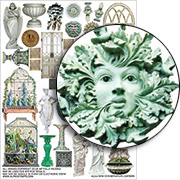 Mini Conservatory Garden Collage Sheet