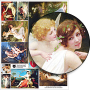 Mischievous Cupid Collage Sheet