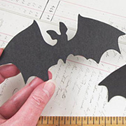 Black Chipboard Bat