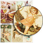 On Wings of Love Collage Sheet