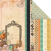 Miss Empire Steampunk Scrapbook Paper