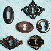 Junkyard Findings - Set of Keyholes