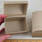Paper Mache Treasure Chest