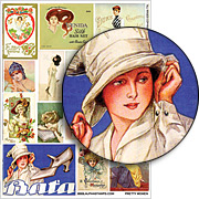 Pretty Women Collage Sheet