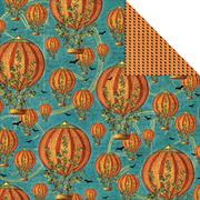 Steampunk Spells - Pumpkin Power Scrapbook Paper