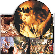 Putti (Cherubs) #1 Collage Sheet