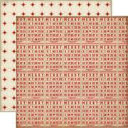 Christmas Reflections Scrapbook Paper - Christmas Games