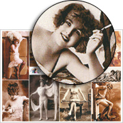 Risque Beauties Collage Sheet