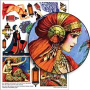 Rock the Kasbah Collage Sheet