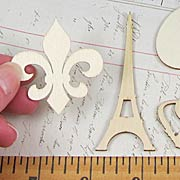 Sweet Paris Wood Elements Set*
