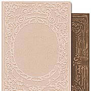 Tim Holtz - Embossing Folders - Book Covers