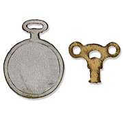 Movers and Shapers Magnetic Die Set - Clock Key & Pocket Watch