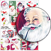 Santa Baby Collage Sheet